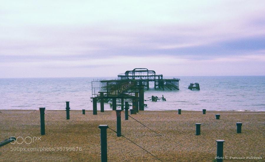Photograph Brighton Beach by Pulvirenti Francesco on 500px