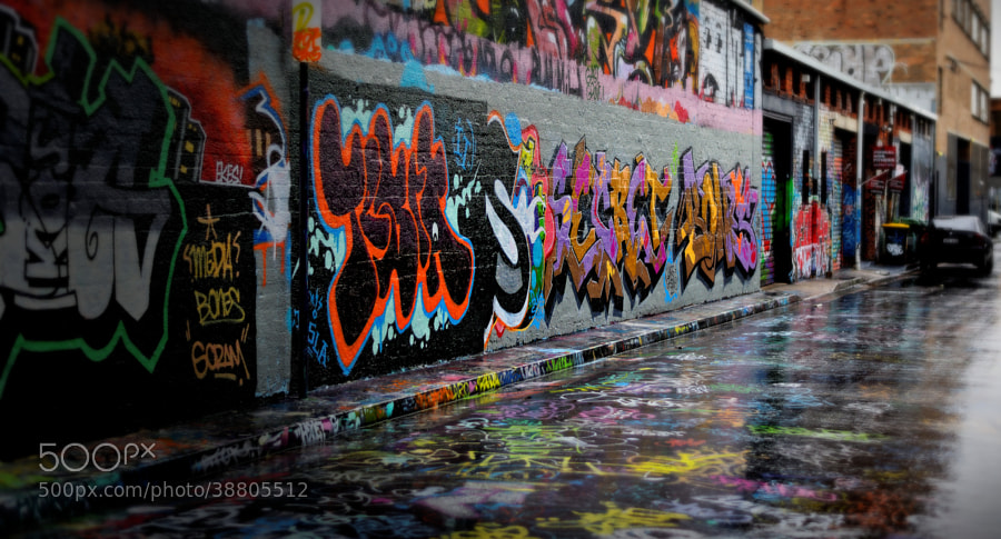 33 Gritty Photos Of Graffiti Street Art