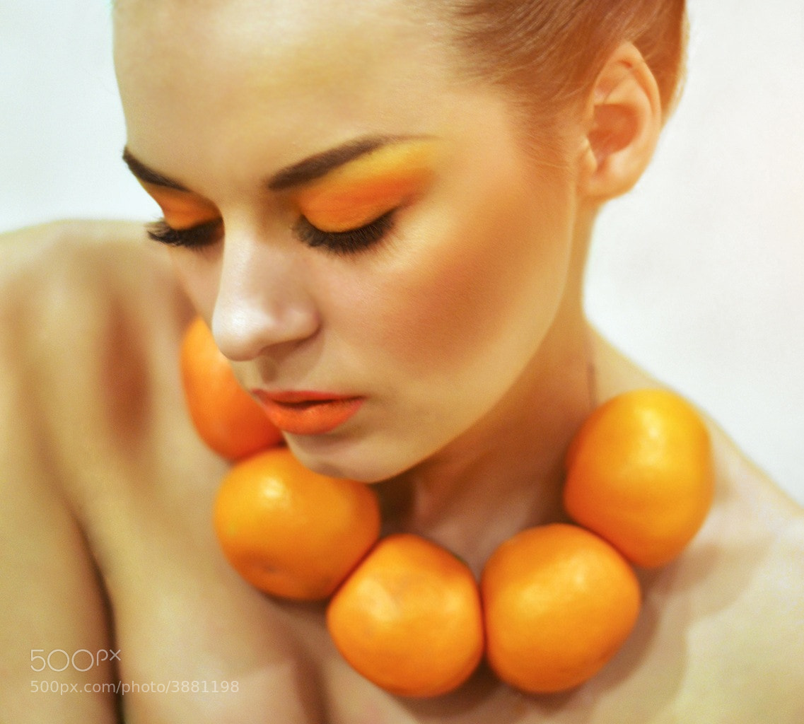 Photograph Mandarina Girl by Irina  Ievliukhina on 500px