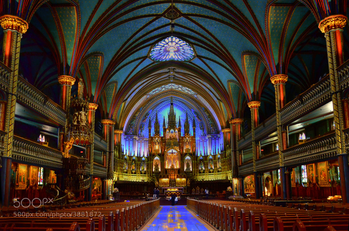 Photograph Notre Dame - Montreal by Anura Fernando on 500px