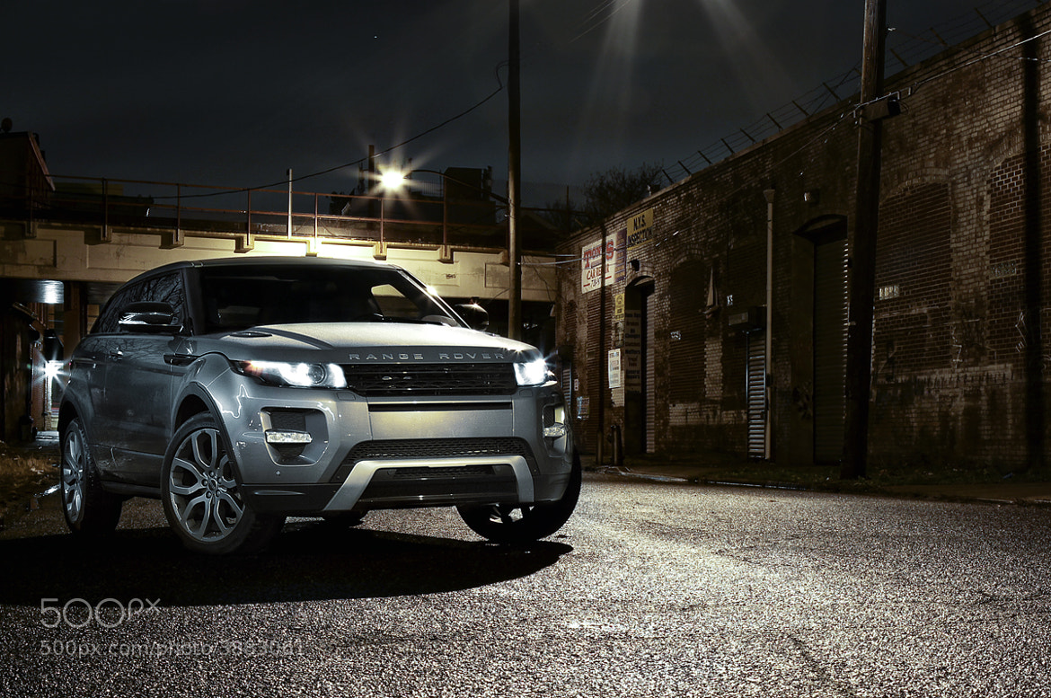 Photograph Range Rover Evoque, lit with an iPhone by Andrew Link on 500px