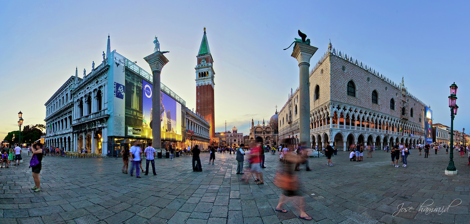Photograph Sunset over Piazza San Marco by Jose Hamra on 500px