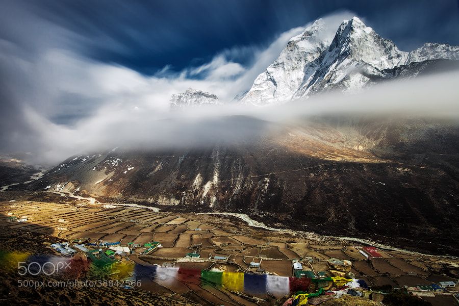 Photograph Ama Dablam by Alexey Zavodskiy on 500px