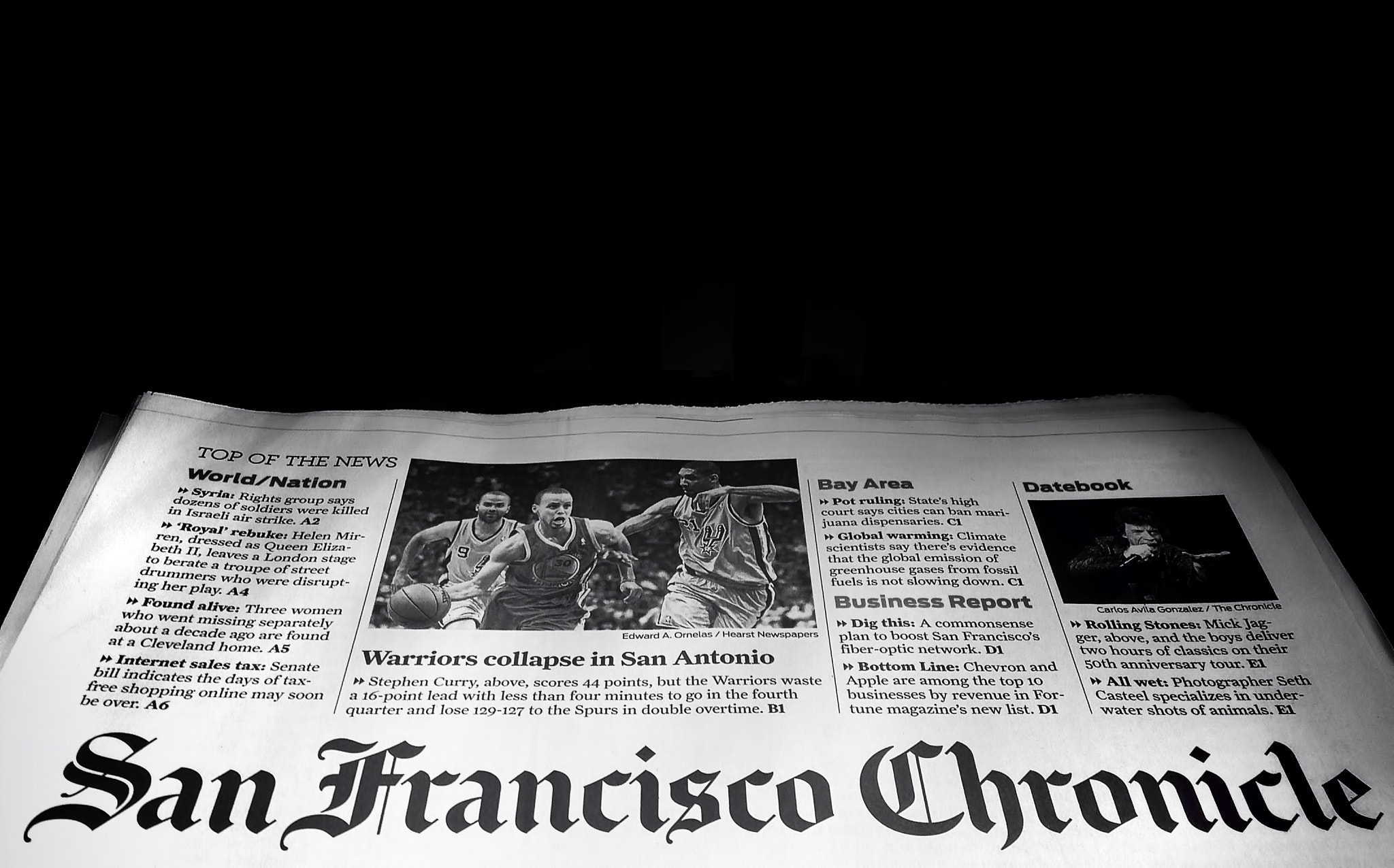 Photograph SaN FranciscO ChroniclE by Guillaume Rio on 500px