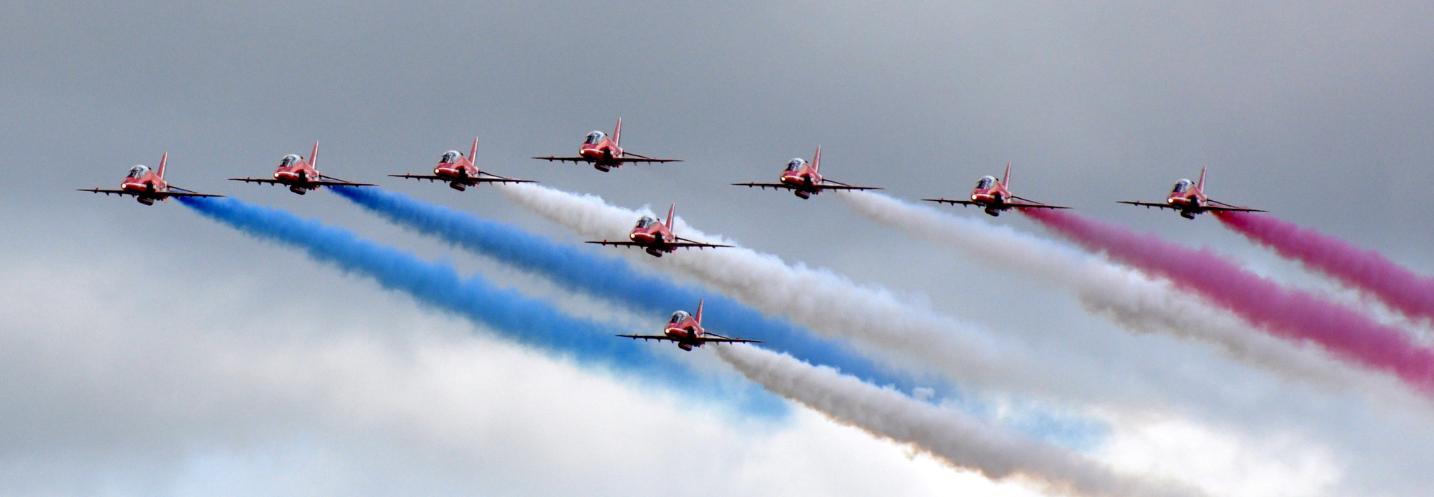 Photograph Red Arrows by Rob Hays on 500px
