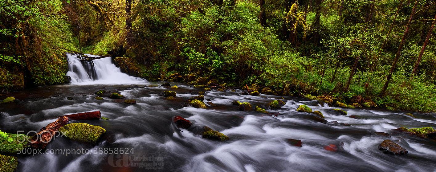 Photograph Crystal Falls by Christina Angquico on 500px