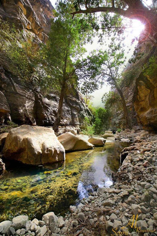 Photograph وادي لجب  by المصور السامي on 500px