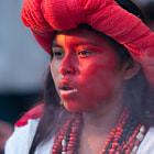 fiesta polular maya, en la riviera maya, mexico