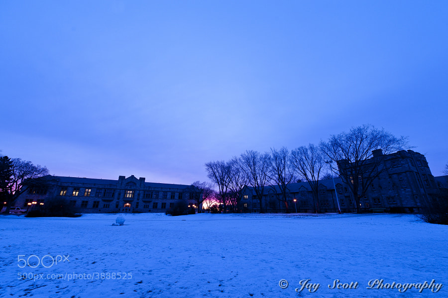 Solstace Sunrise ar the University of Saskatchewan - 2 by Jay Scott (jayscottphotography) on 500px.com