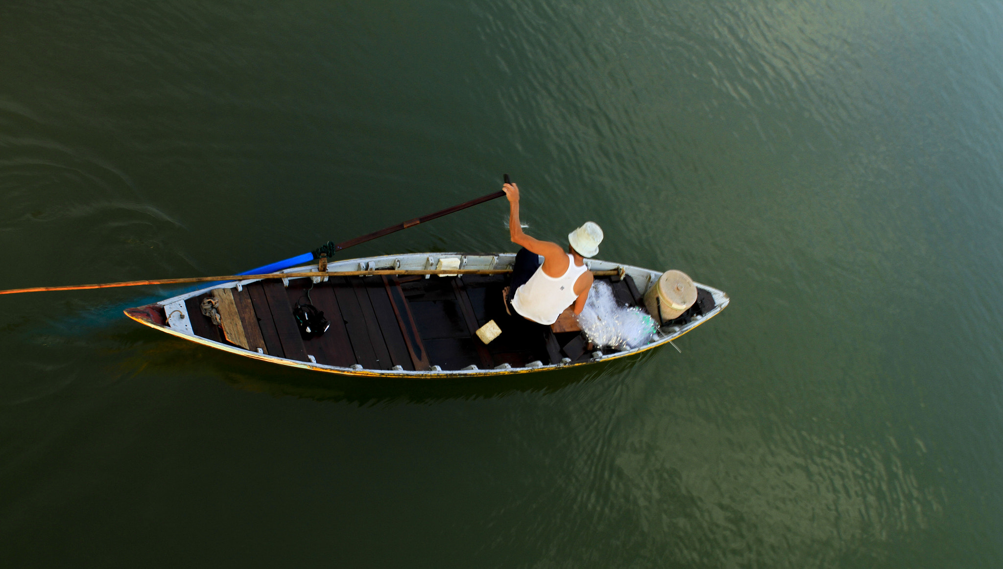Photograph Life on Hoai River by PN  Photo on 500px