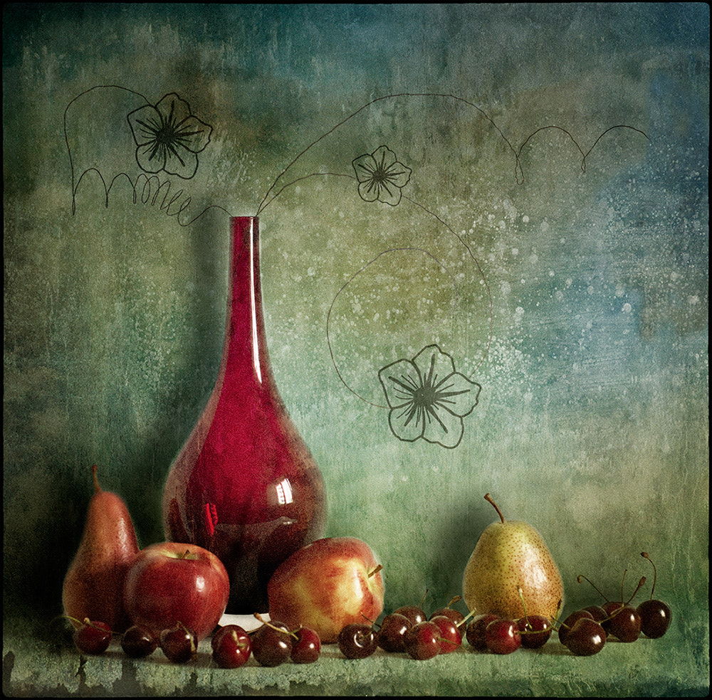 Photograph Still life with apples and pears by Martina Roberts on 500px