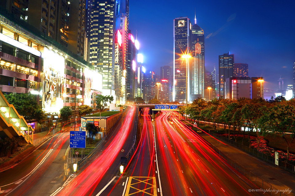 Photograph rush hour by Even Liu on 500px