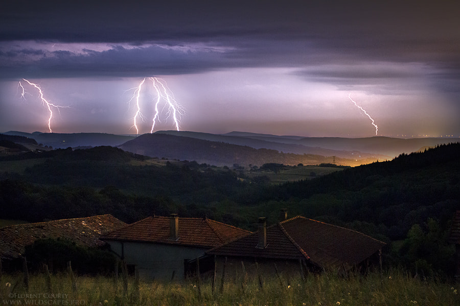Photograph Storms Beyond The Hills by Florent Courty on 500px