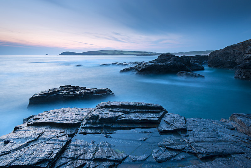 Photograph Twilight over Trevose by Adam Burton on 500px
