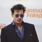 ������, ������: Lone Ranger Premiere: Johnny Depp in Moscow