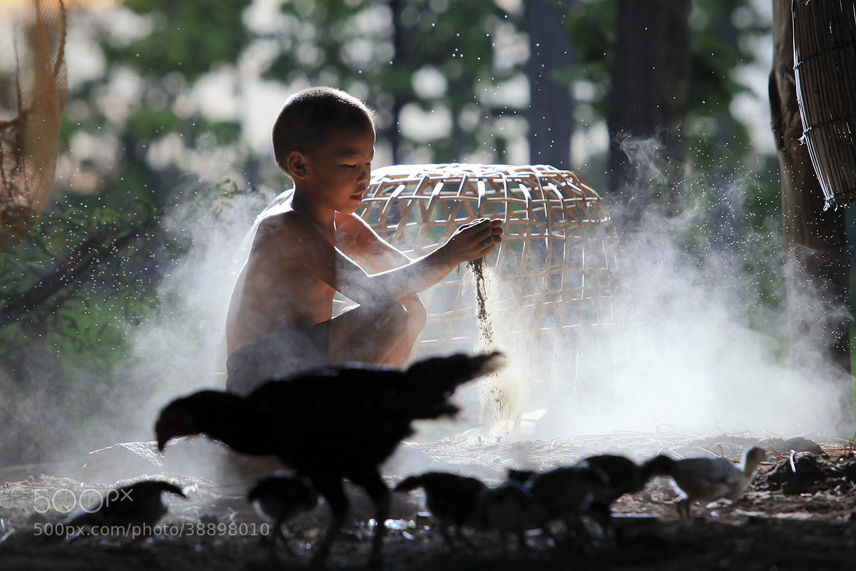 Photograph Ckicken man by Saravut Whanset on 500px