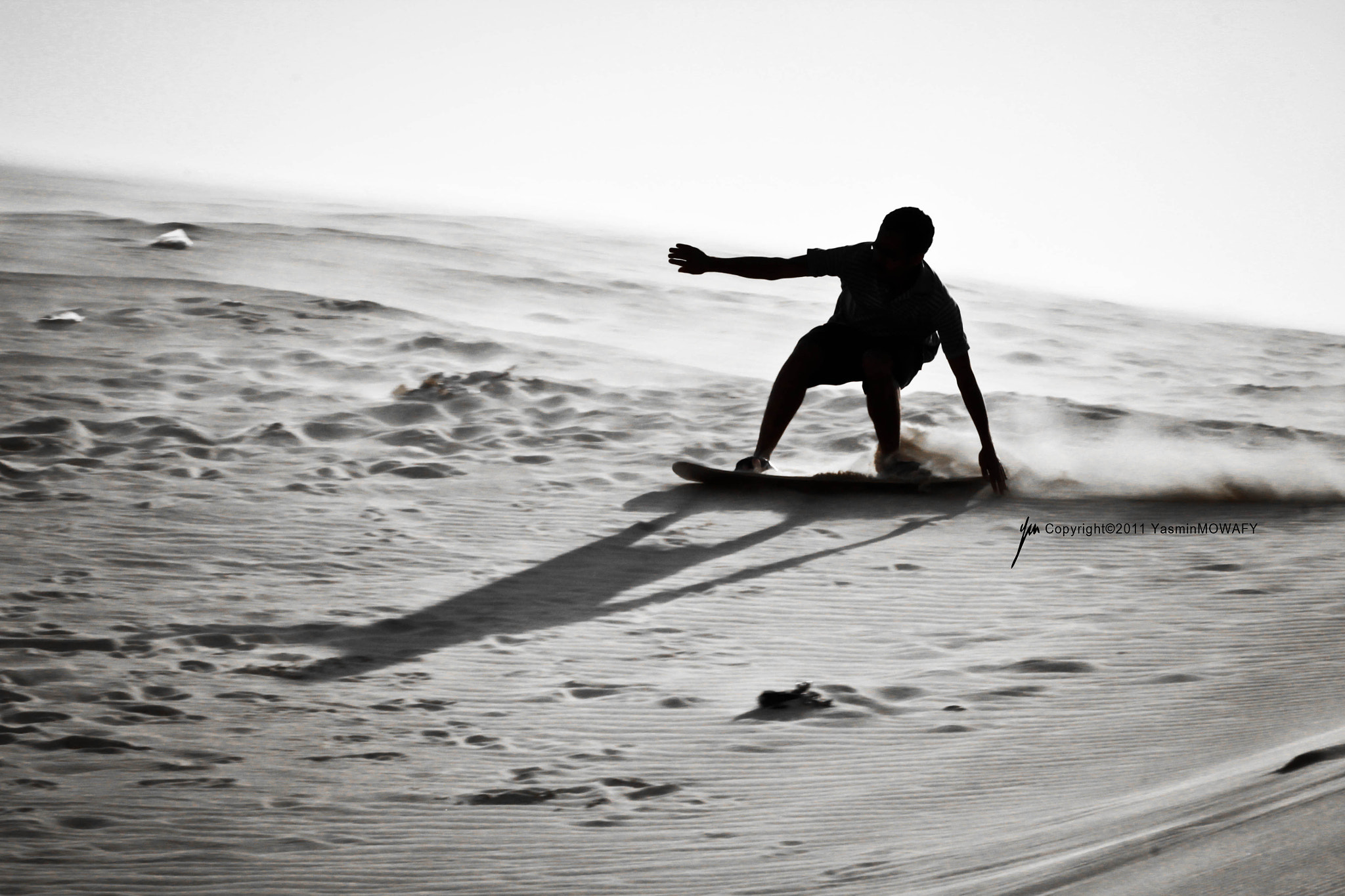 Photograph Sandboarding by Yasmin Mowafy on 500px
