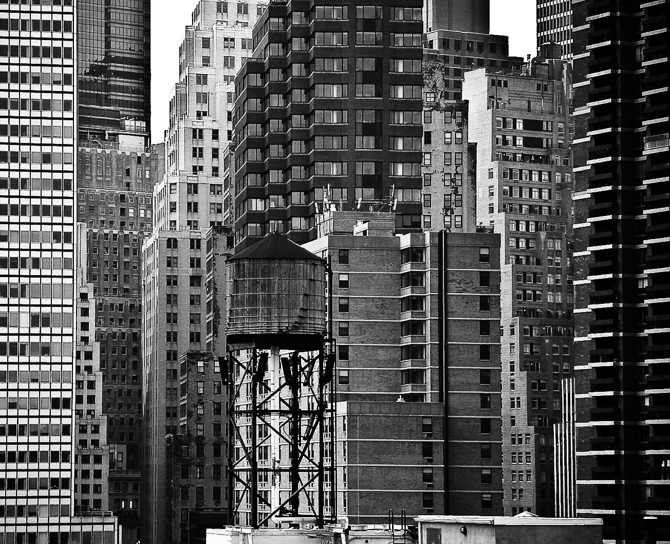 Photograph Downtown Manhattan by Stefan R. on 500px