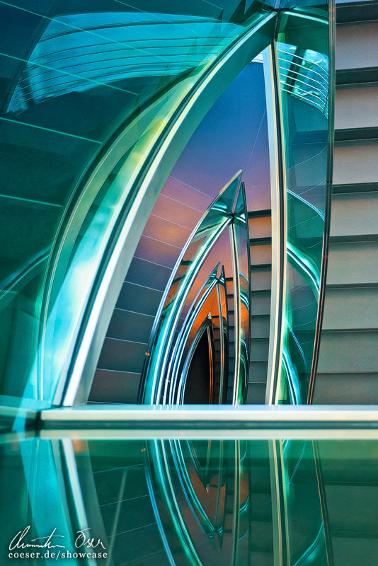 Photograph Hangar Seven Staircase 02 by Christian Öser on 500px