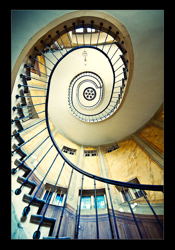 Photograph Spiral to the top by Kajo Photography on 500px