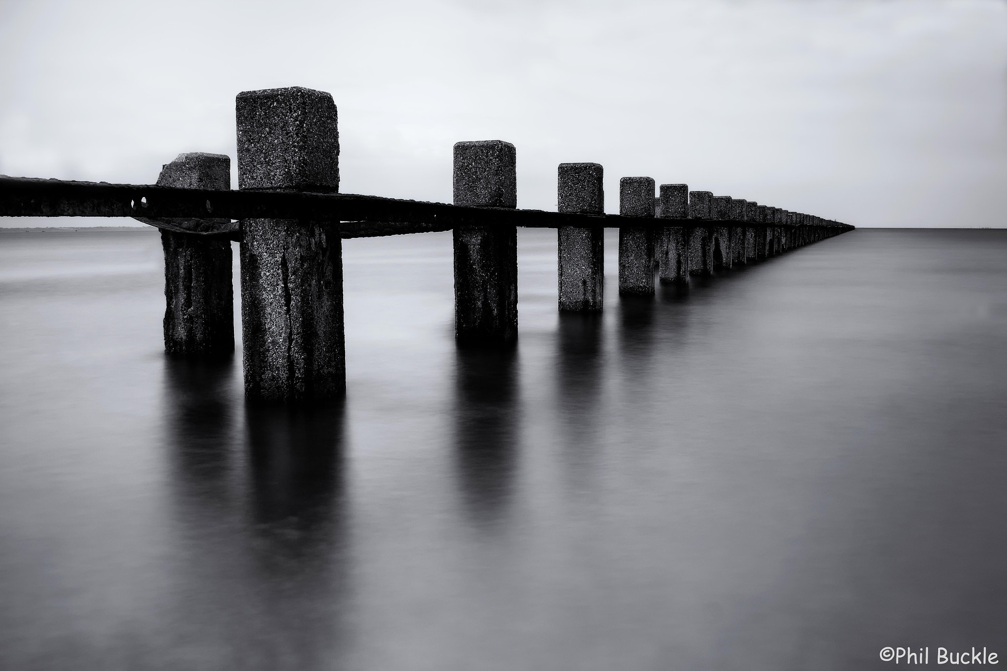 Photograph Shoeburyness Boom by Phil Buckle on 500px