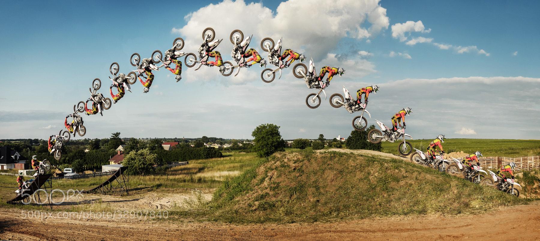 Photograph FMX Backflip by Jacek Woźniak on 500px