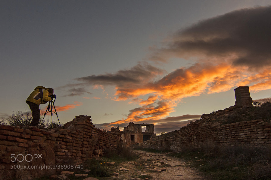 Photograph Sunset in Belchite by Tony Goran on 500px
