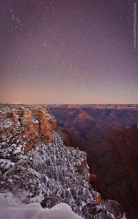 Photograph Canyon Night Sky by Stephen DesRoches on 500px
