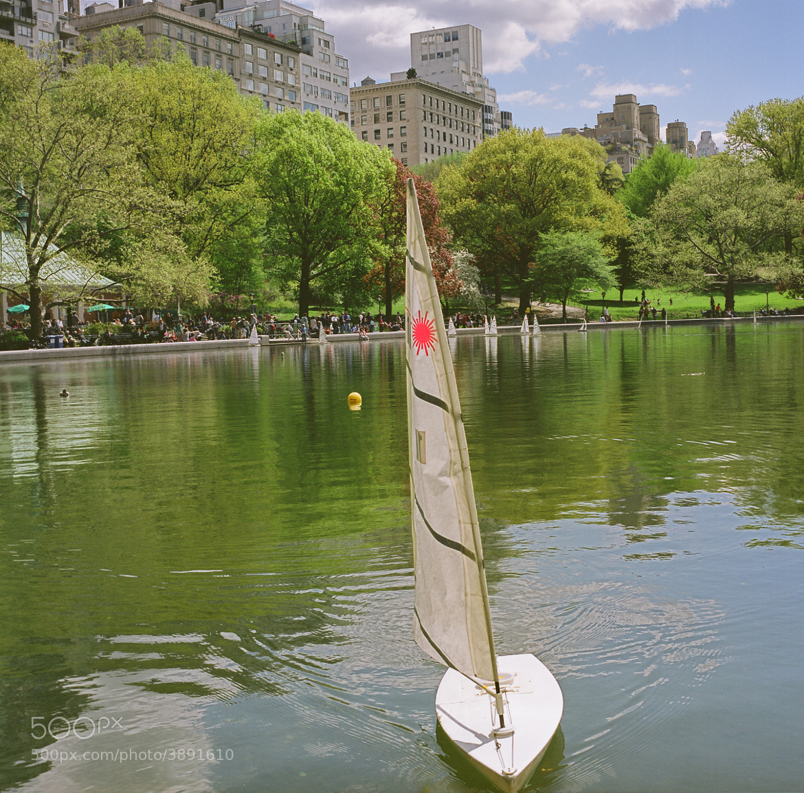 Photograph Boat on the Conservatory Water - Central Park, New York by Brad Tito on 500px