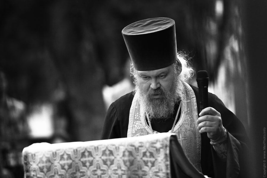 Photograph Priest | Cвященник by Maxim Bukin on 500px