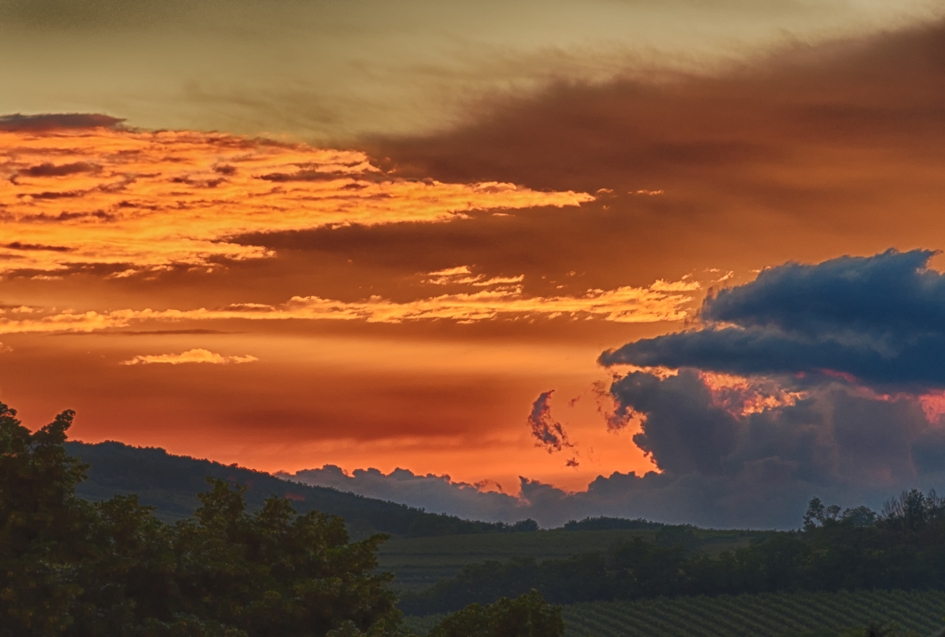 Photograph Sunset over Mailberg by Ernst Gamauf on 500px