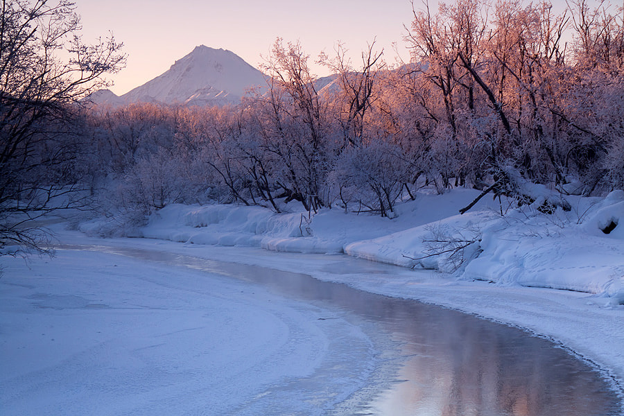 Photograph Morning of the cold river by Денис Будьков on 500px