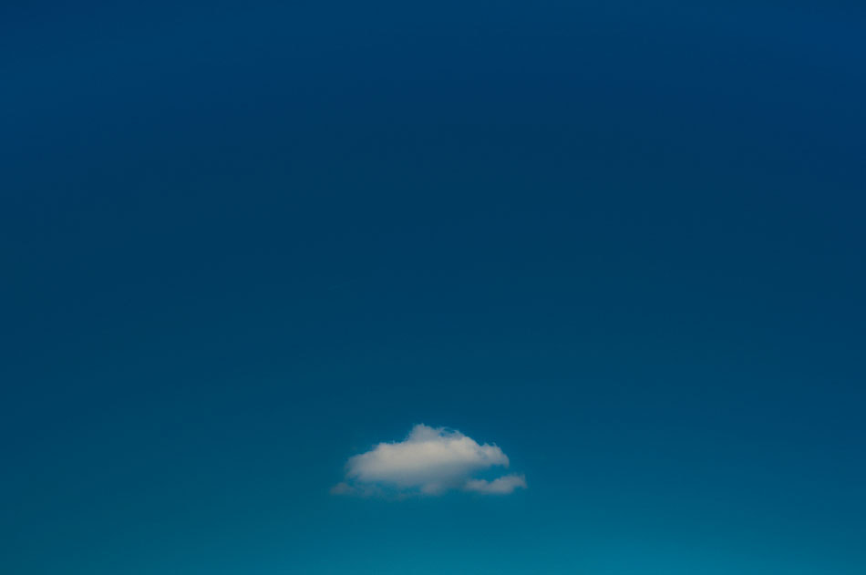 Photograph A Single Cloud by Mirco Wilhelm on 500px