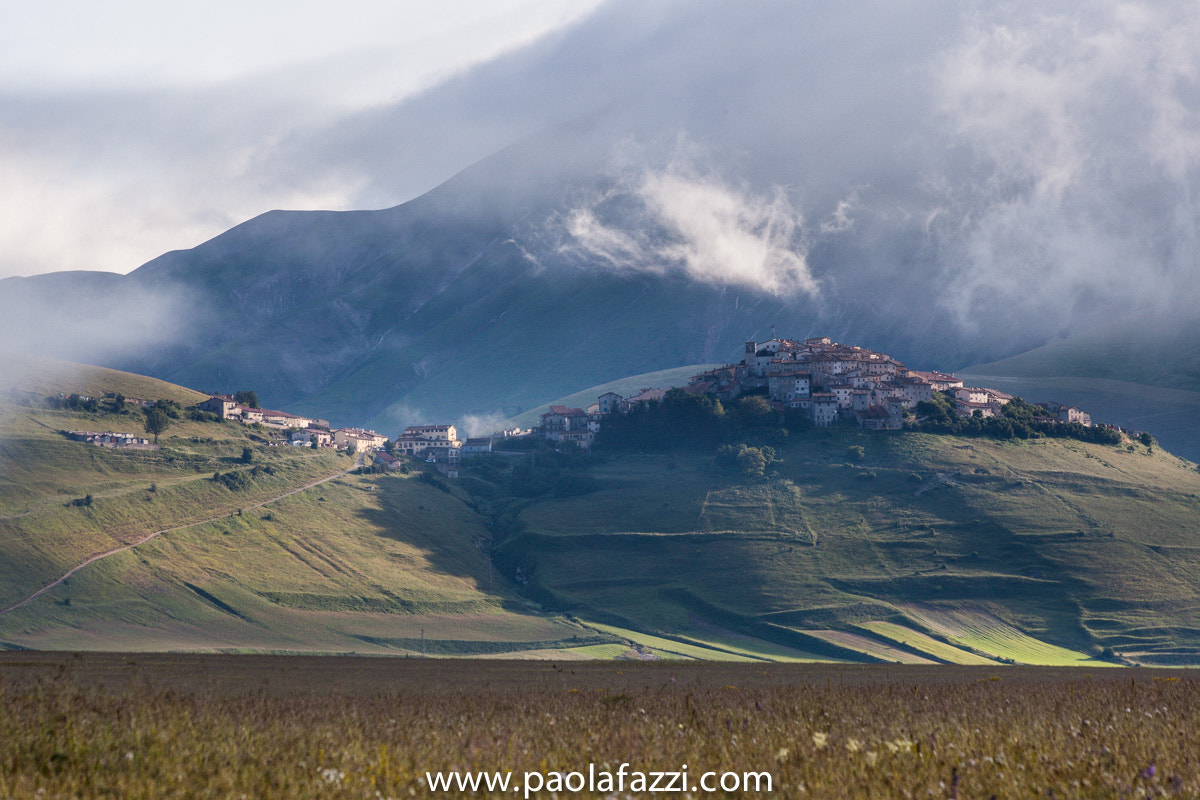Photograph Shadows and light in castelluccio by Paola Fazzi on 500px