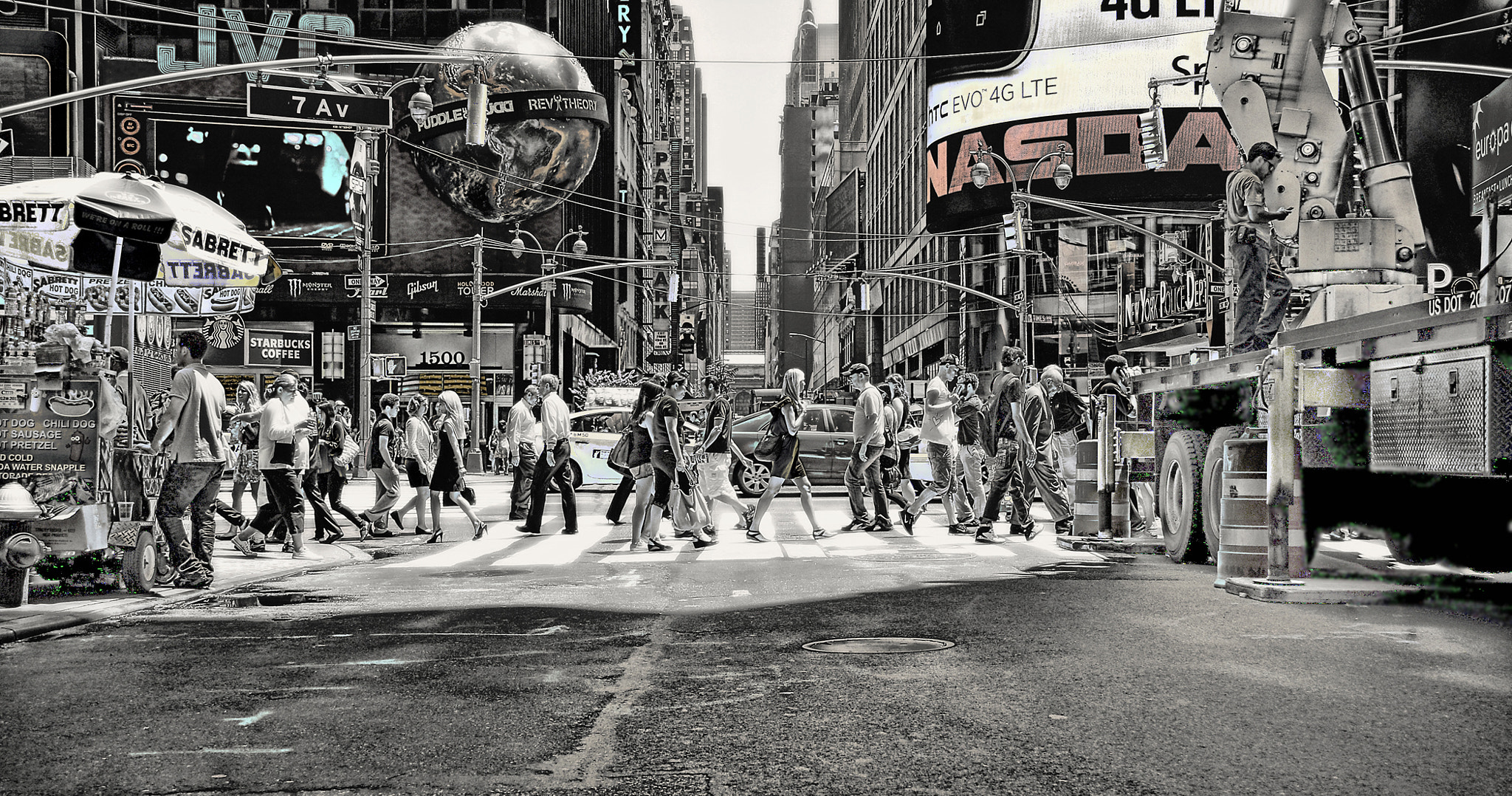 Photograph Times Square Manhattan NY by Enoxh Eloe on 500px