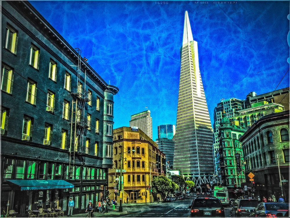 Photograph Columbus St, San Francisco, CA. by Marcelo Alexandre on 500px