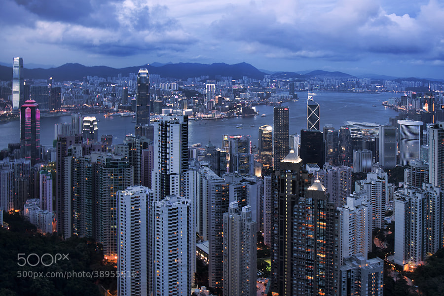 Photograph The blue hour by Pcarbone Freelance Photographer on 500px
