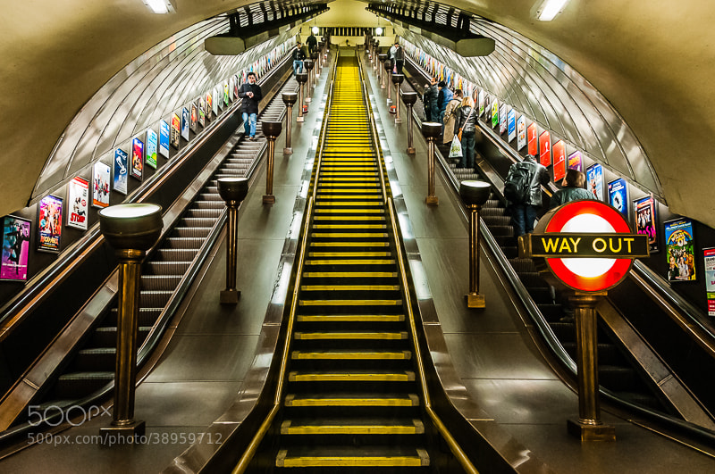 Photograph The Way Out by Keith Custis on 500px