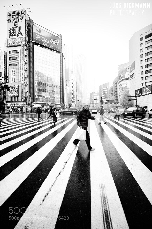 Photograph Tokyo Crosswalk by Jörg Dickmann Photography on 500px