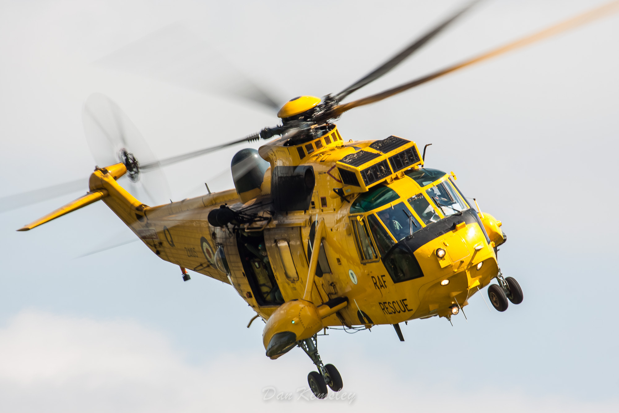 Photograph RAF Search and Rescue SeaKing  by Dan Kemsley on 500px