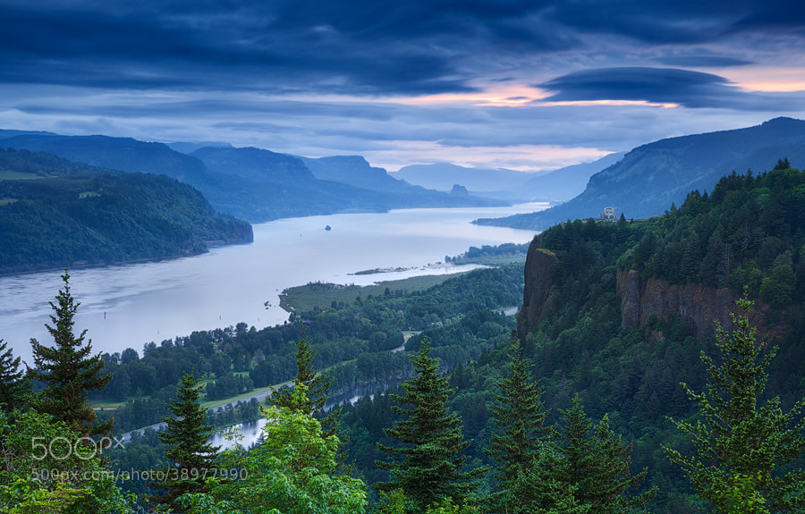 Photograph Columbia River Blues by Michael  Breitung on 500px