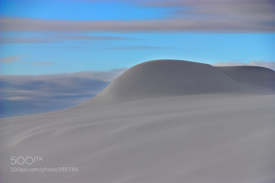 Photograph Snow Ridge by Mihaila Cristian on 500px