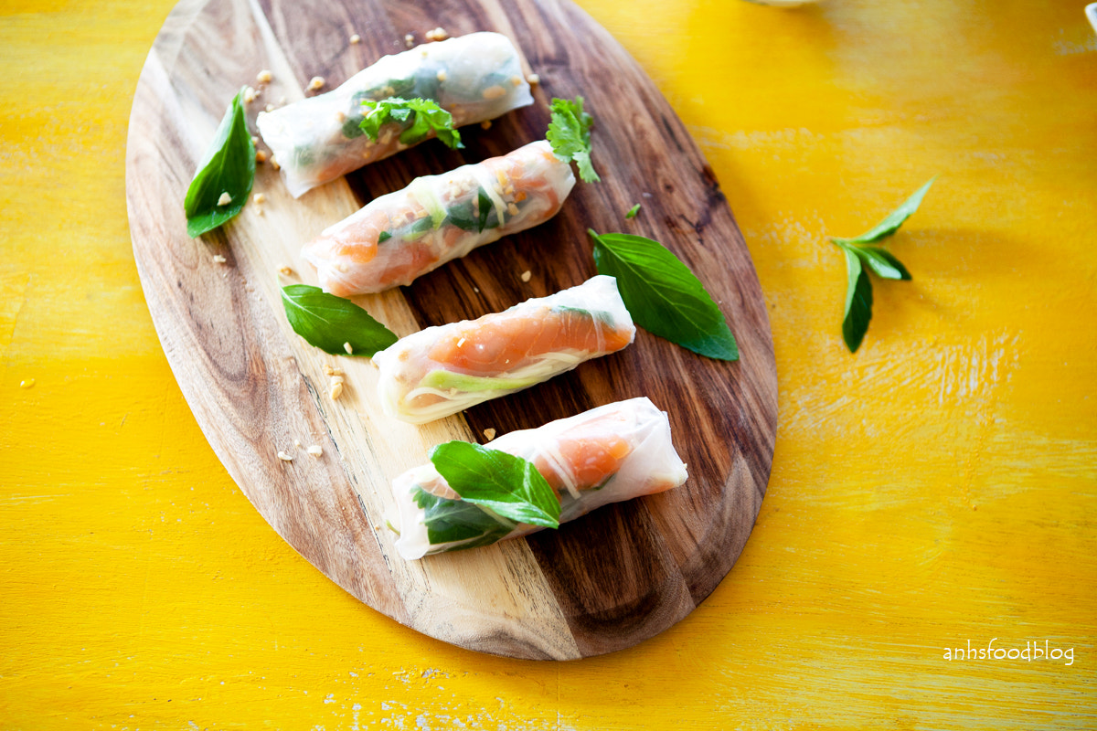 Photograph Fresh: Vietnamese style summer rolls  by Anh Nguyen on 500px
