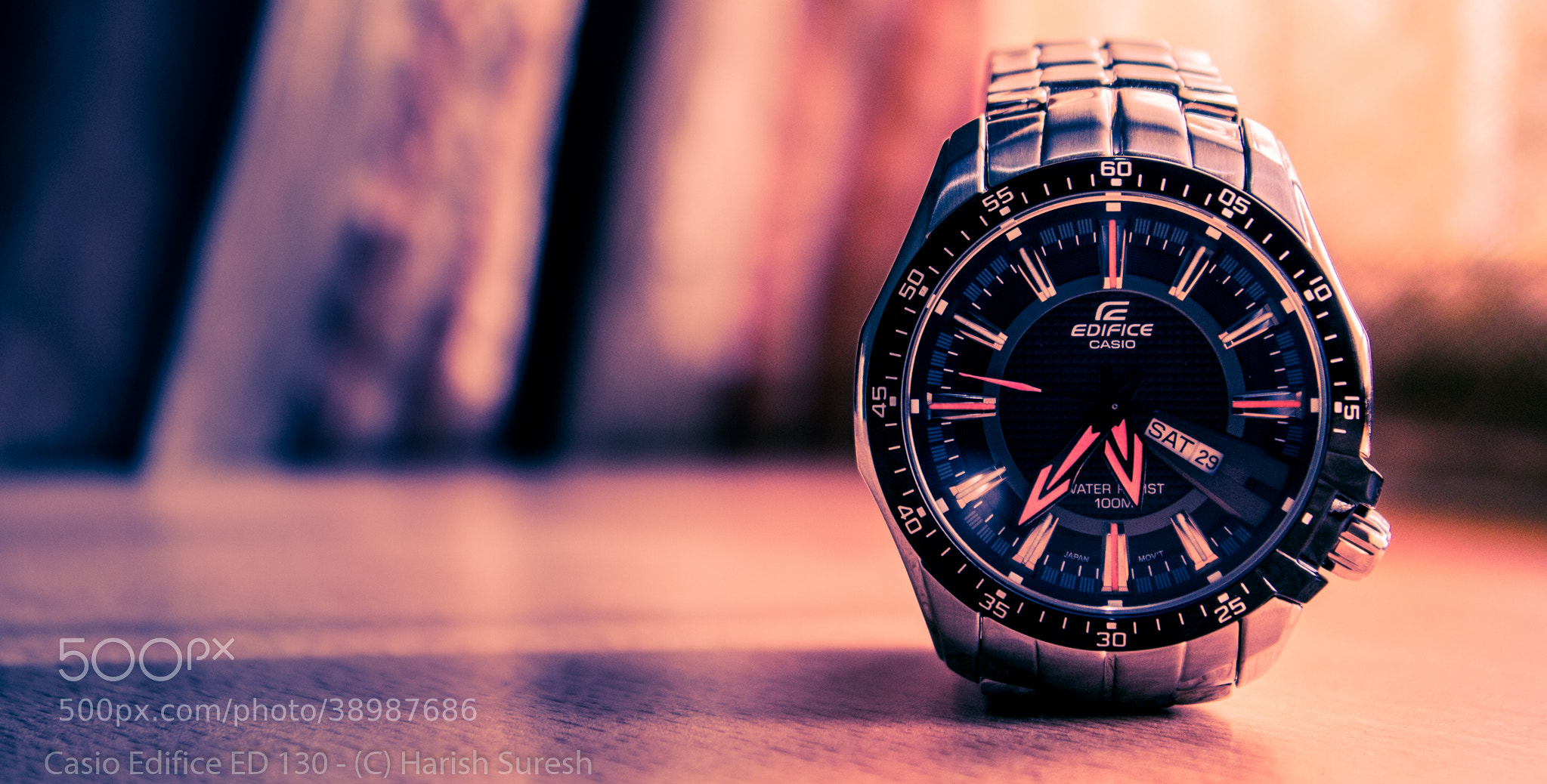 Photograph Shooting the Casio Edifice ED 130 by Harish Suresh on 500px