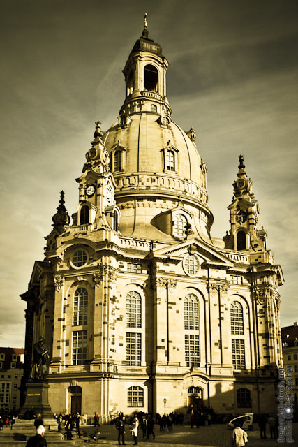 Photograph Frauenkirche - Dresden by Michael Ehrlein on 500px
