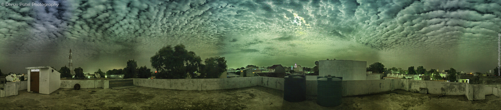 Photograph Panorama : Moon playing Hide and Seek  by Dhruv Patel on 500px
