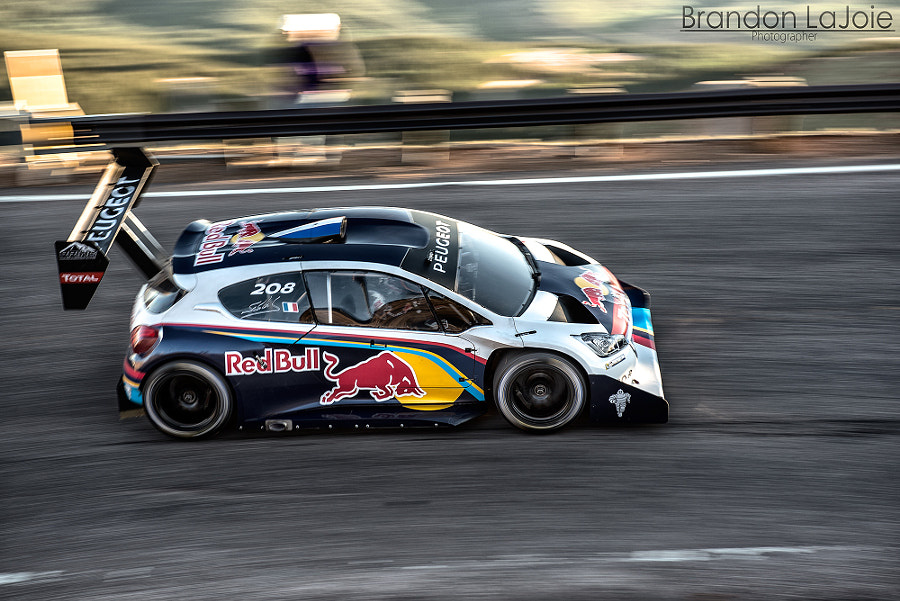 Sebastian Loeb at Pikes Peak International Hill Climb
