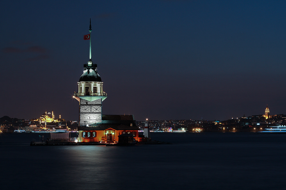 """Photograph """"leander tower""""(maiden's tower) by e&e photography on 500px"""