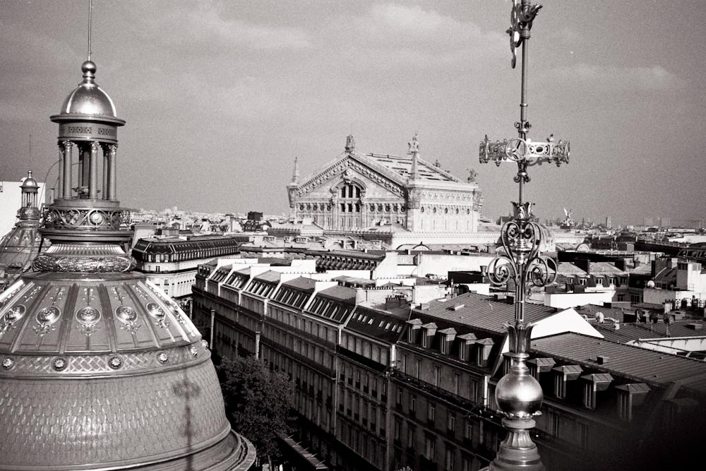 Photograph Paris roof view by Geoffrey Arduini on 500px