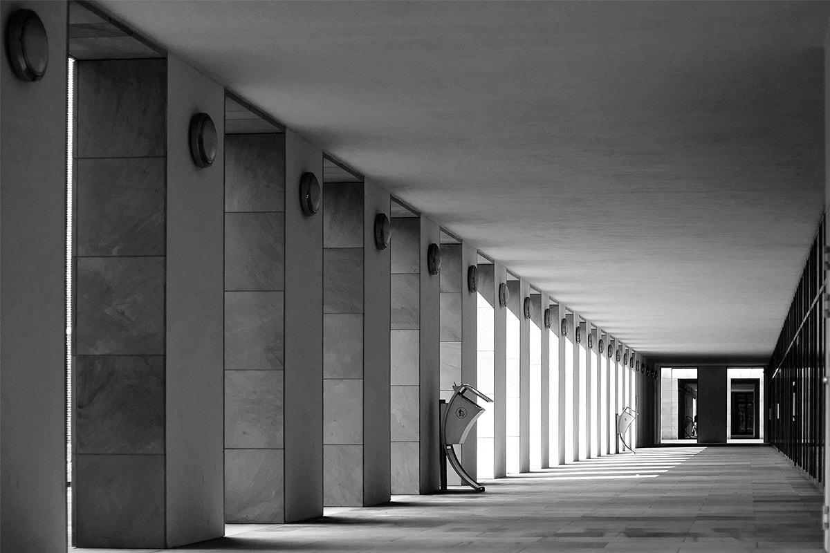 Photograph Colonnade by xflo : w on 500px
